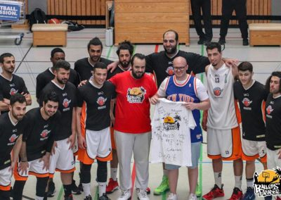 Team Souriana vs. Bayer Giants Leverkusen