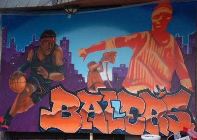 Basketball trifft Kunst