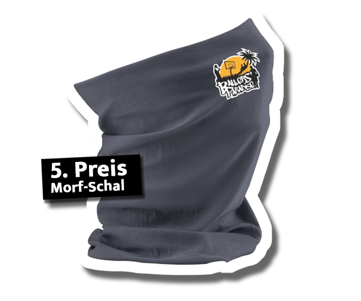 5. Preis: Morf-Schal mit Logo